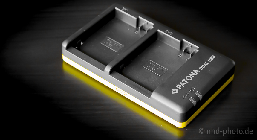 Dual Ladegerät für Canon LP-E8