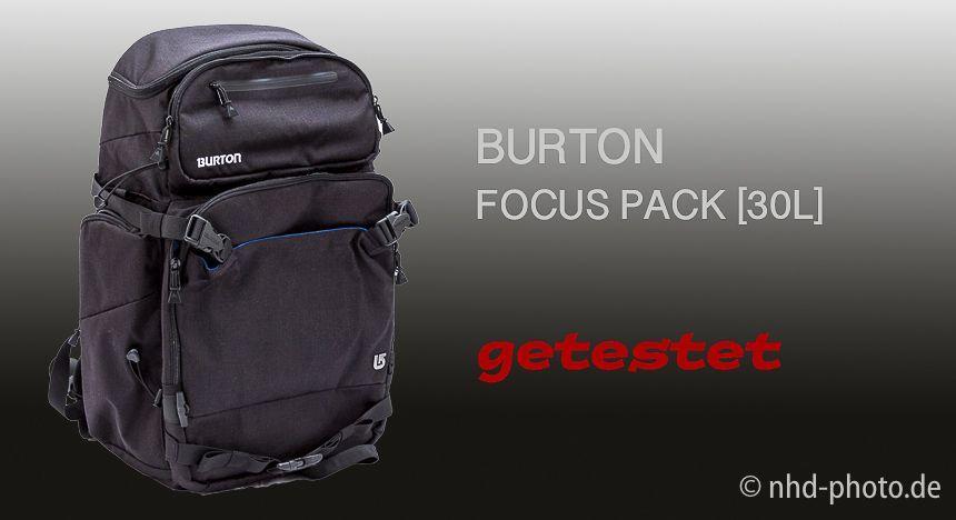 Focus Pack von Burton – schick, aber …